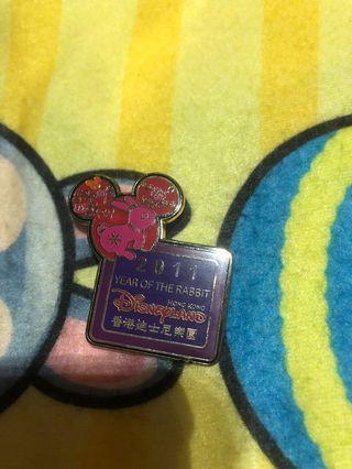迪士尼樂園襟章Disney pin迪士尼樂園徽章交換徽章