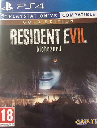 Biohazard 7 gold edition 生化7 黃金版