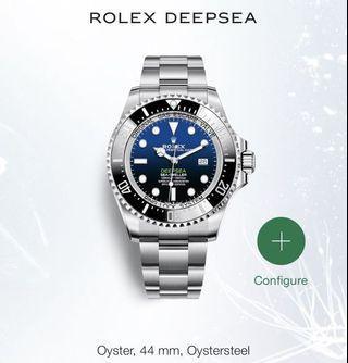 🚚 Brand new Rolex Deep Sea Sea Dweller Deep Blue 126660