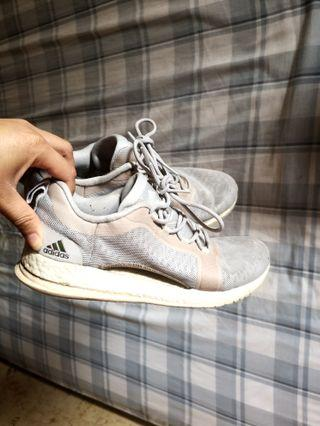 Adidas ultra boost grey and pink size 6.5 womens