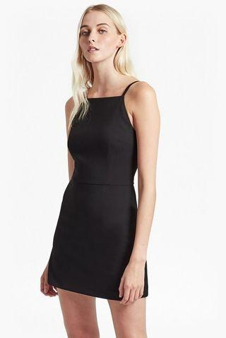 French connection square neck dress