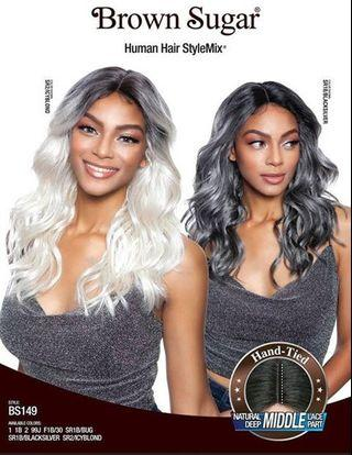 Lace Front Wig | Colour 1B30 | 14 Inches