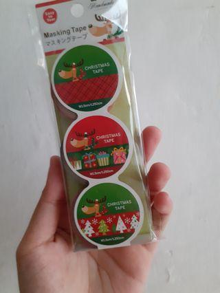 #joinjuli [NEW] MASKING TAPE/SELOTIP CHRISMAST