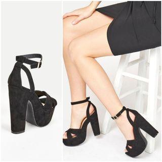 (Just Fab) Platform Heels, Size 8