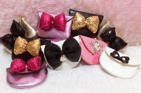 Girls mini bowknot handbag