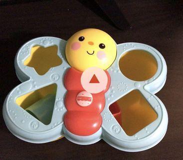 Fisher price 蝴蝶配對玩具