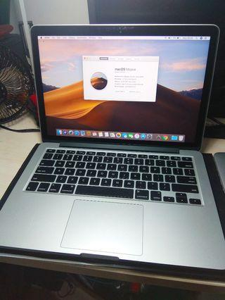 Macbook Pro Retina Early 2015, 13 Inch, 8GB RAM, 128GB SSD