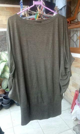 Kaos polos hijab army