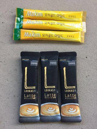 Lookas 9 Latte/ Maxim Korea coffee