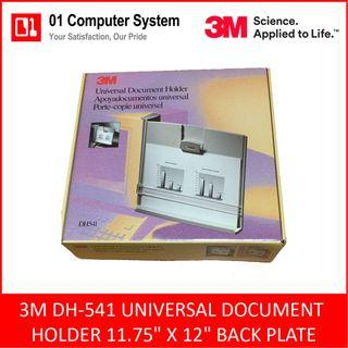 "[CLEARANCE] 3M DH-541 UNIVERSAL DOCUMENT HOLDER 11.75"" X 12"" BACK PLATE"