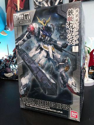鐵血孤兒 巴巴托斯 天狼座 1/100 01 Gundam Barbatos Lupus 高達模型