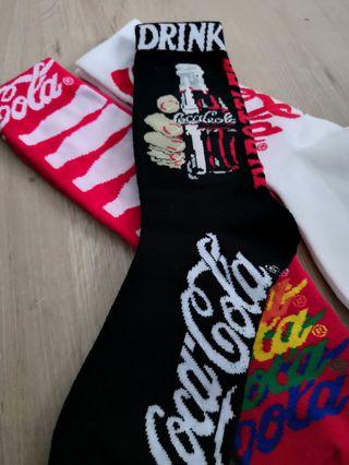 CocaCola Coke Socks