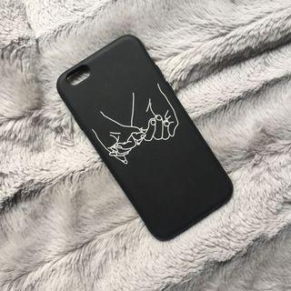 📱iphone 6/6s case   aesthetic abstract art   black & soft
