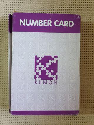 🚚 Kumon Number Cards