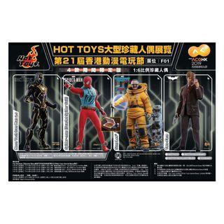 賣10/7 平民首日hottoys  hot toys四寶 動漫節2019訂單 Ironman Mark 6 Neon Tech Spiderman Stan Lee Two Face