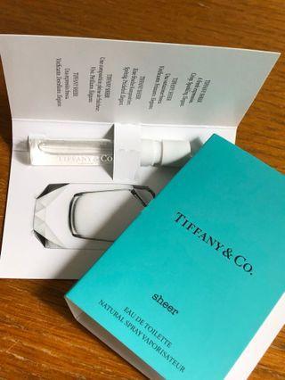 📮Tiffany & Co. sheer Perfume Tester x2