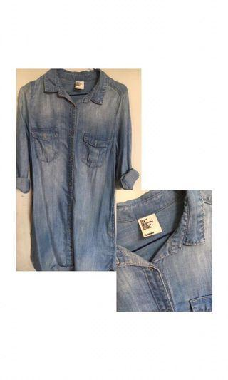 Blue denim by h&m