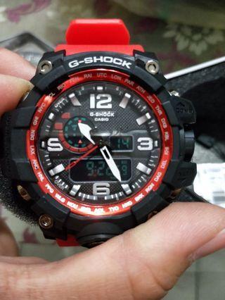 🚚 紅色手錶