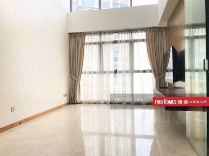Rare One Bedroom 2 bath enclosed kitchen Loft Condo @ Tanjong Pagar