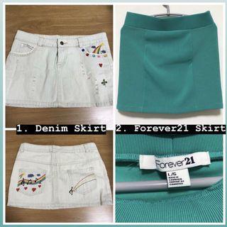 🚚 <PRICE CUT> Skirts