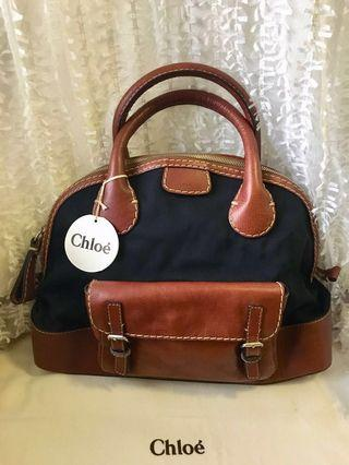 Chloe Bag (leather &canvas)皮革帆布手袋