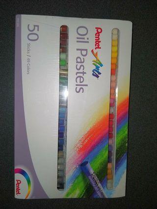 Pentel Oil pastels crayons