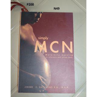 Simply MCN- Maternity Nursing - a reference and review book