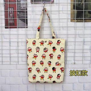 Sinchan/ doremon Canvas Tote Bag