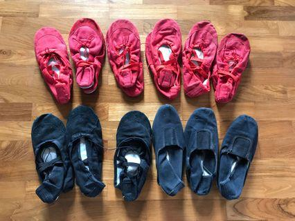 All 12 Pairs for $12 Ballet Flats for kids