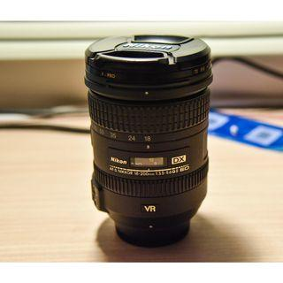 Nikon 18-200mm VR II