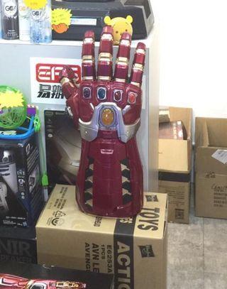 孩之寶 Marvel 傳奇收藏版Iron Man電子納米手套