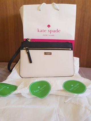 BRAND NEW AUTHENTIC Kate Spade Tinie Laurel Way Wristlet