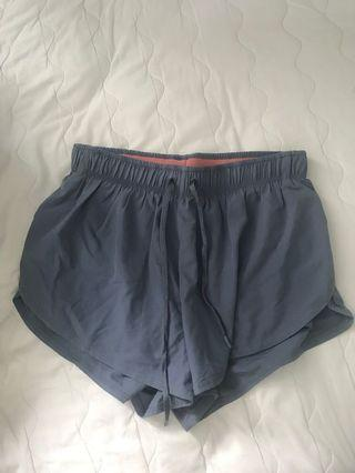 Cotton On Body Blue Grey running shorts