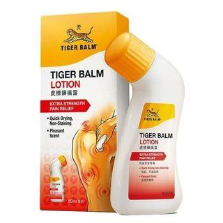 TIGER BALM Lotion Extra Strength Balsem Roll On Nyeri Otot Sendi 80 ml