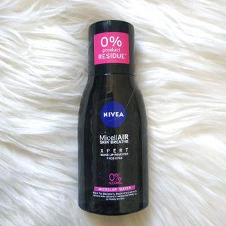 NIVEA MICELLAIR WATER XPERT MAKE UP REMOVER 125ml