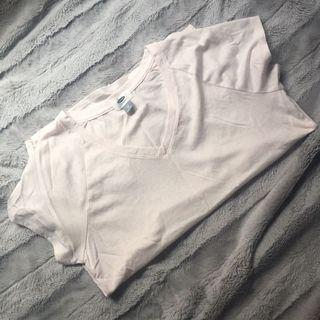 ✨old navy light pastel pink v-neck t-shirt/tee/top