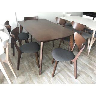 6 seater dining table set (FREE POSTAGE) NO COD