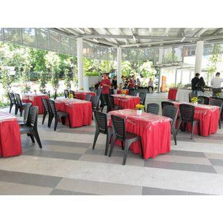 [Rent] Tables and Chairs Rent Rental Cheap Deliver Setup Event Function Wedding Birthday Party Flee Market Roadshow Kenduri Buffet BBQ Barbecue Barbeque Rental Open House Celebration 16