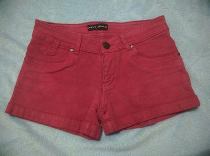 Celana Pendek Merah OKNY Jeans