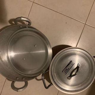 Kitchen King cookware aluminium) (new) both 35