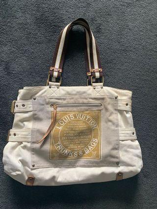 Louis Vuitton Trunks & Bags canvas tote