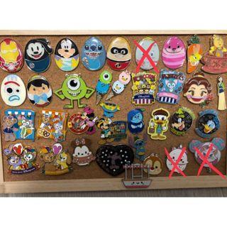 迪士尼襟章 Disney pin Trading Pin trade 迪士尼徽章