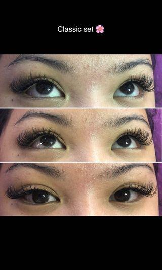 Classic set ( eyelash extensions)