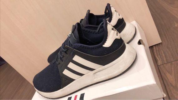 Adidas Original PLR 三葉愛迪達慢跑鞋-深藍