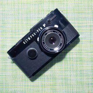 Olympus Pen FT Black 38mm F2.8 Pancake Lens Film Camera