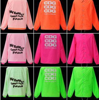 CDG Coach Jacket ( 3 colors)