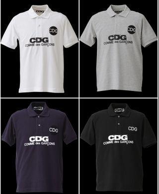 CDG POLO TEE (4 colors)
