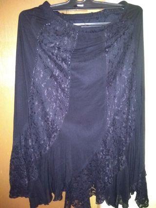 #maugopay rok hitam