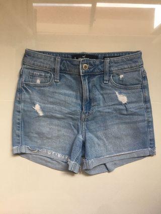 Hollister Vintage High Waisted Mom Shorts