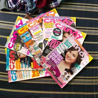 Candy magazines collection